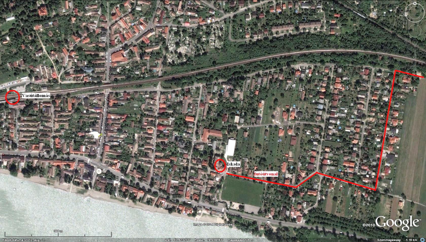 verőce térkép Futapest Verőce terepfutás verőce térkép